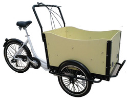 The cheapest 3 wheel cargo pedal rickshaw /pedal tricycle for sale