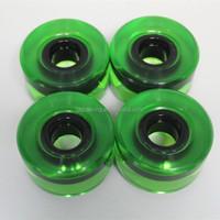PU material 60mm free skateboard wheels