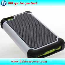Rogged 3 in 1 cell phone case for iphone 5C/ hybrid case for iphone 5C