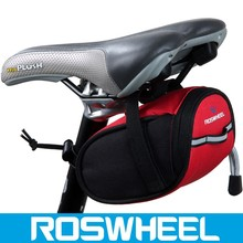 Wholesale new design colorful water proof expandable saddle bicycle bag 13567