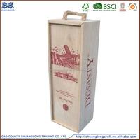 Art Minds Wood Crafts Wooden Wine Gift Box, High Quality Wooden Wine Gift Box,Gift Boxes For Wine Glasses,Wooden Wine Gift Box
