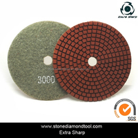 Resin Diamond Floor Polishing Pad For Concrete Marble Terrazzo Polishing