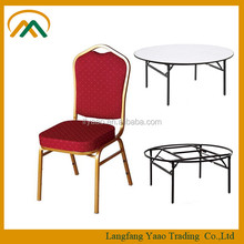 Wholesale Stackable cheap used banquet chairs and tables