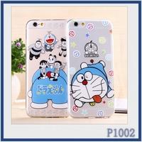 Wholesale high quality cheap cartoon series cat printed custom phone case