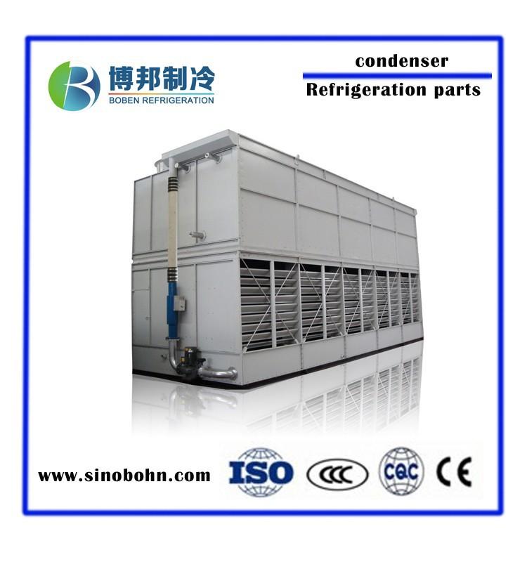 Evaporative Condensing Unit : Industrial evaporative air cooled condenser price for