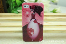 iParty Dolly girl PC mobile phone case for iphone 4/4S