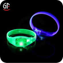 2015 Promotion Gift Led Light Up Sound Activated Wristband With a Reasonable Price