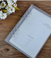 Elegant 6/9/20 pp transparent ring binder a4 size on sale