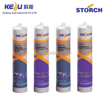 Mould-proof silicone sealant, roof structural glazing silicone sealant
