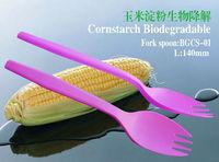 100% disposable biodegradable compostable steak soup spoon fork