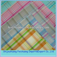 Garment, shirting fabric Use and Polyester / Cotton Material rayon crepe fabric