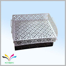China factory supplier hot sale newest household organizer fancy innovative letter drawer metal mesh storage drawer
