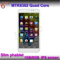 New products 2015 hot ultra slim android tablet phone 6 inch wcdma gsm dual sim