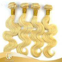 Top Selling Fashion Style Noble Gold Weaving Russian Hair Body Wave
