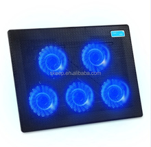 2015 New ultra Slim laptop cooling pad with adjust speed five fans,,notebook cooling pad(VNCP-79)