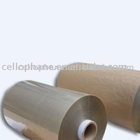 Transparent Cellulose Film (Cellophane) In Roll