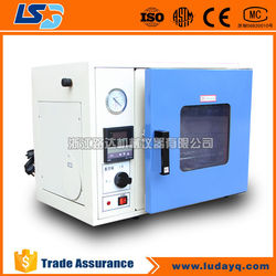 Small Electric drying vacuum oven with vacuum pump / vacuum drying oven