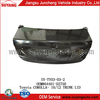 for Toyota Corolla(2010-2012) suyang auto steel trunk lid auto body parts