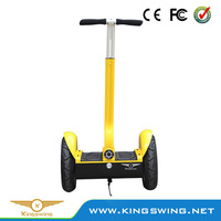 Yellow electric scooter 2 wheels Self balance scooters 1000w DC brush motor