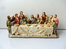 2012 polyresin religious handicrafts last supper religious decoration