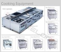 2015 Restaurant Stainless Steel Cooking Gas Range