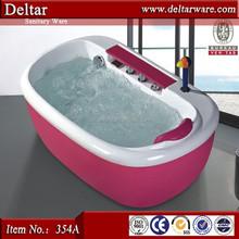 Cute Shape Acrylic Bathtub For Baby, Blue Color Baby Bathtub, 0.7-1.2m Length child bathtub