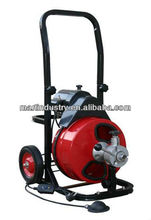 Medium duty sewer cleaning machine drain cleaner