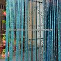 cadena de plata cortinas para puertas