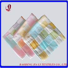 Professional supplier two layer plain cloth cotton handkerchief