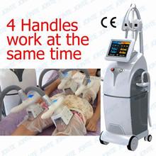 4 cryo handles work together promotional price cryolipolysis fat freezing machine
