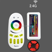 DC12/24V 4-zone remote conrol 2.4G-RF wireless RGB smart color changed led strip led controller wifi solar controller m-7