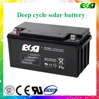 lead acid battery solar 12V 65ah valve regulated battery