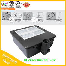 black color housing 5 years warranty led shoe box light