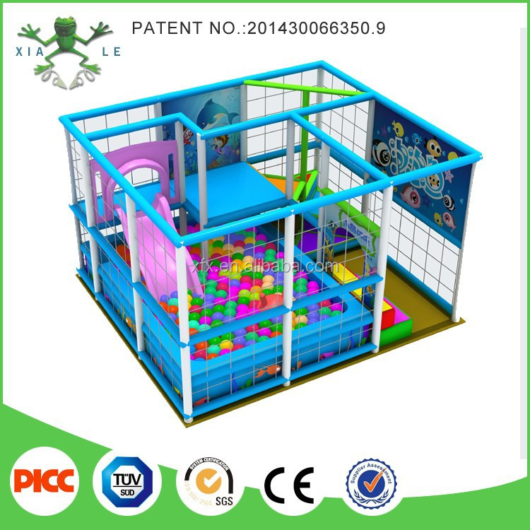 Eco friendly small indoor play area children indoor soft for Cheap indoor play areas