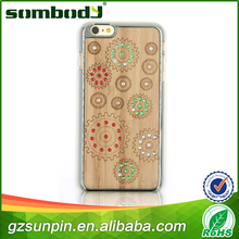News arrival fashion and good quality bamboo cell phone case
