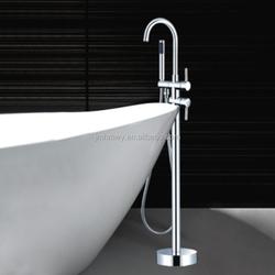 floor standing shower,floor standing type shower bath combination,two functions floor type shower bath combination