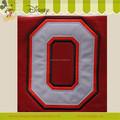 carta chepa apliques bordados para el uso de chaqueta de jersey o