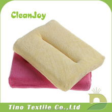 Multi-function kitchen/car cleaning sponge brands with microfiber