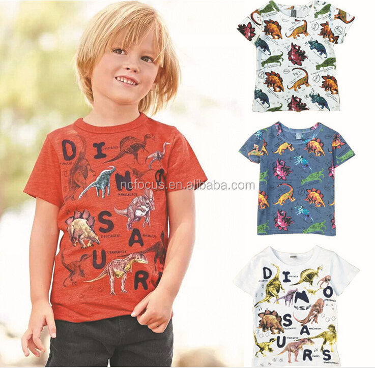 Wholesale cute boys t shirt printed t shirts kids wear for Buy printed t shirts wholesale