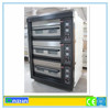 Ten years production experience First-class service!!! Stainless Steel 3 Decks 6 Trays Commercial Decks bakery gas deck oven