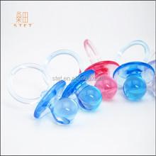 2015 Modern Babypink Acrylic Pacifier Cute Baby Shower Ideas