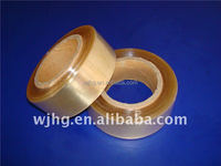 transparent yellow PVC Cable Wrapping stretch film