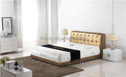 Foshan modern design bedroom furniture/ king size bed mattress price on sale MT10