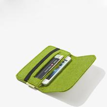 WP114 Reshine Cheap Fashion Design Felt Cell Mobile Phone Bags & Cases