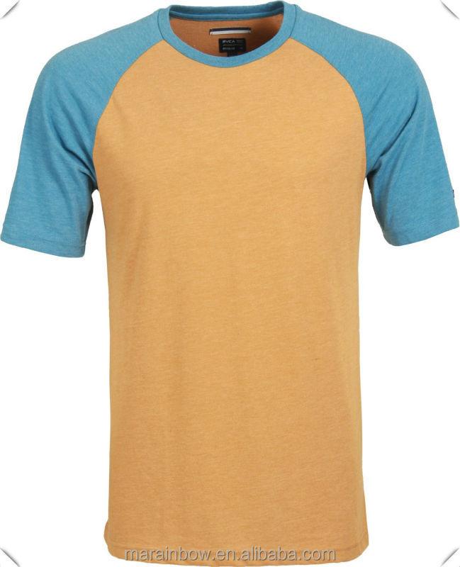 Plain cotton polyester blend mens wholesale fashion for Poly blend t shirts wholesale