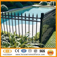 garden decoration security swimming pool fence , simple iron window grills