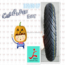 ISO9001 Factory Supply motorcycle tire 120/80-17