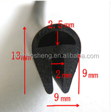 glass seal/ car glass rubber protective strip