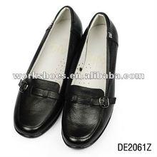imágenes de las mujeres de la cuña de lujo de cuero zapatos de vestir 43 tamaño