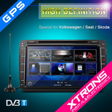 """PF81MTVD- XTRONS 8"""" Ultra-clear Touch Screen GPS/Dynamic User Interface/Built-in DVB-T Car DVD Plyer For VW"""